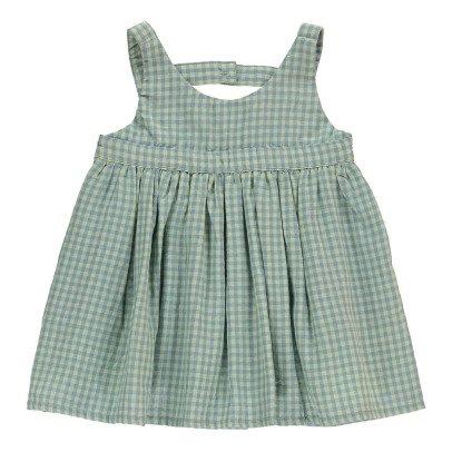 Bonnet à pompon Vestido Cuadros -listing