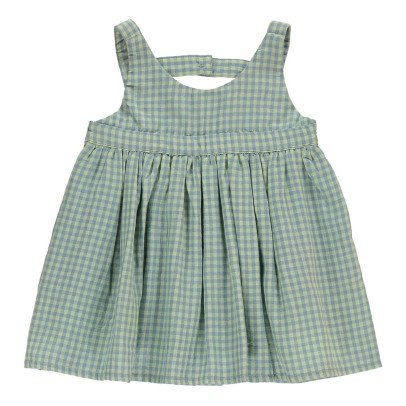 Bonnet à pompon Vestito Quadretti-listing