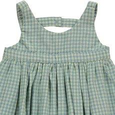 Bonnet à pompon Checked Dress-listing