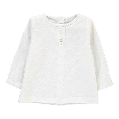 Bonnet à pompon Camisa Lino 2 botones -listing