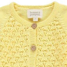 Bonnet à pompon Cardigan Crochet-listing