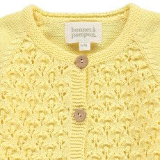 Bonnet à pompon Cardigan Uncinetto-listing