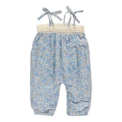 Bonnet à pompon Mono Flores -listing