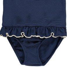 Bonnet à pompon Maillot de Bain 1 Pièce Piqué-listing