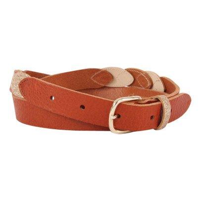 Des petits hauts Cintura Cuoio Paillette-listing
