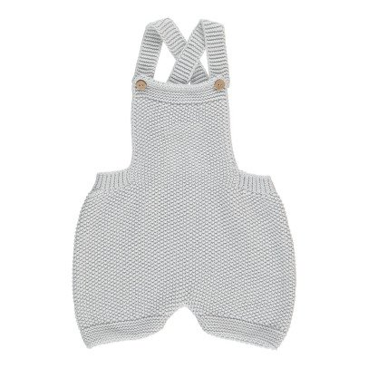 Bonnet à pompon Knitted Romper-listing