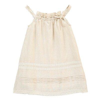 Bonnet à pompon Robe Bain de Soleil Détails Dentelle-listing