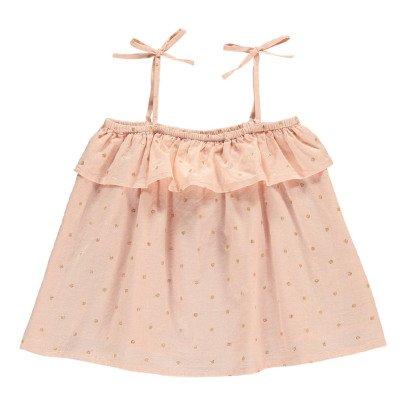 Bonnet à pompon Lurex Polka Dot Dress-listing