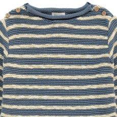Bonnet à pompon Moss Stitch Marinière Jumper-listing