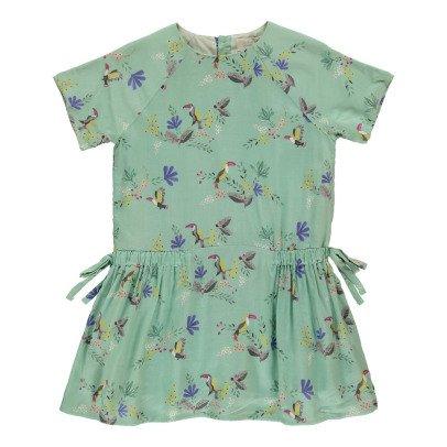 Bonnet à pompon Vestido Pájaros-listing