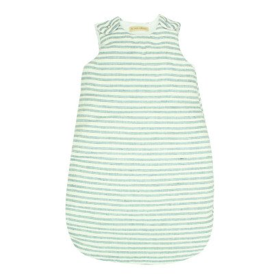 Lab - La Petite Collection Three Colour Striped Linen Sleeping Bag-listing
