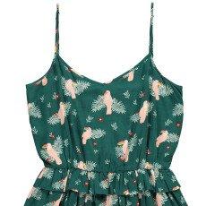 Des petits hauts Enrietta Toucans Dobby Spot Dress-listing
