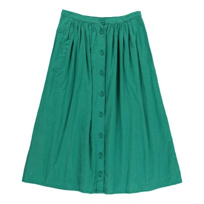 Des petits hauts Touca Crepe Button-Up Maxi Skirt-product