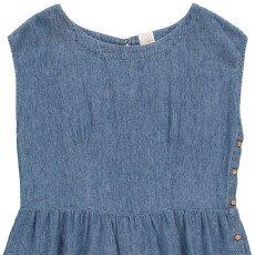 Des petits hauts Léontine Button-Up Cotton and Linen Dress-listing