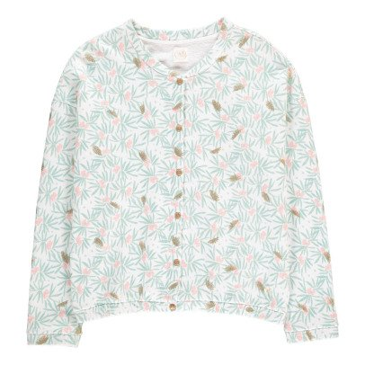 Des petits hauts Katarina Flower Fleece Cardigan-product