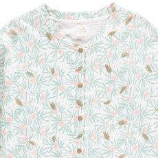 Des petits hauts Katarina Flower Fleece Cardigan-listing