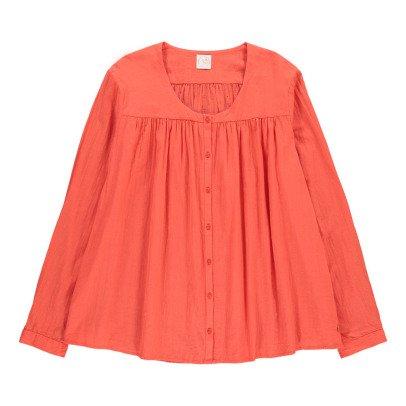 Des petits hauts Toulouse Dobby Spot Crepe Shirt-listing
