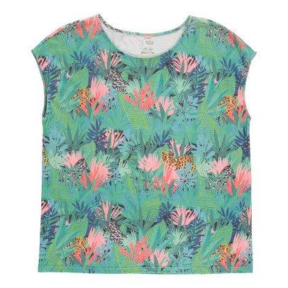 Des petits hauts T-shirt Jungle Zouli-listing