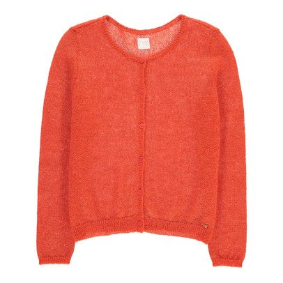 Des petits hauts Alberto Mohair, Silk and Lurex Kid Cardigan-listing