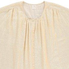 Des petits hauts Taylou Cotton and Lurex Shirt-listing