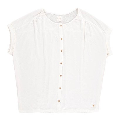 Des petits hauts Ivari Button-Up T-Shirt-listing