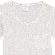 Des petits hauts Francine Embellished Textured T-Shirt-listing