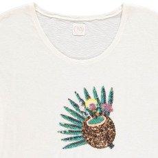 Des petits hauts T-shirt Cocktail Sequins Ivanine-listing