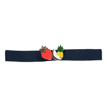 Des petits hauts Palma Fruit Elasticated Belt-listing