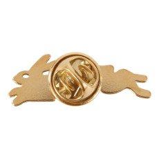 Titlee Pins Latón Dorado Oro Fino Conejo Griffin-listing