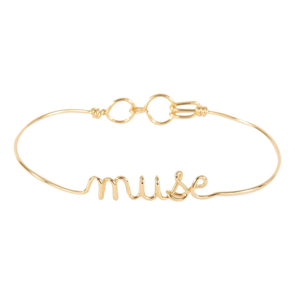 """""""Muse"""" Gold Plated Atelier Paulin x Smallable Bracelet-product"""