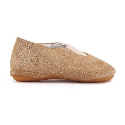 Gallucci Pantofole Camoscio Paillette-listing