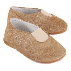 Gallucci Baby-Schuhe aus Wildleder mit Pailletten -listing