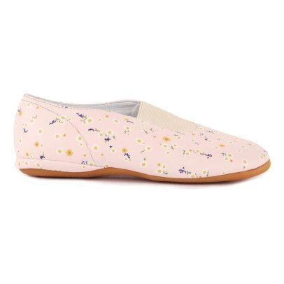 Gallucci Flower Leather Rhythmic Slippers-listing