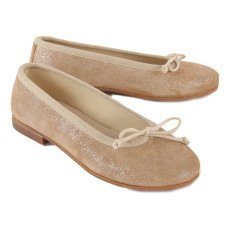 Gallucci Ballerines Cuir Paillettes-listing