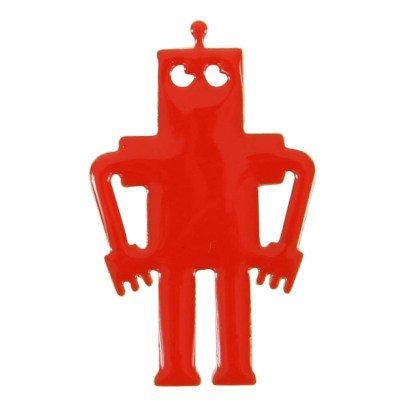 Titlee Pins Latón Dorado Oro Fino Oso Robot Marty-listing