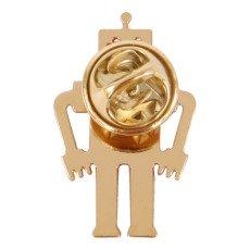 Titlee Pins Laiton Doré à L'or Fin Robot Marty-listing
