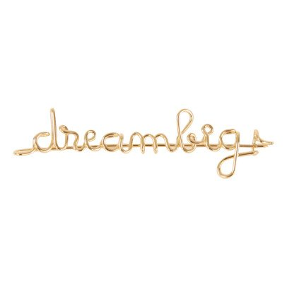 "Atelier Paulin ""Dream Big"" Gold Plated Atelier Paulin x Smallable Fibula-product"