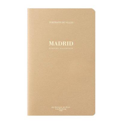 Be Poles Retratos de ciudades Madrid Dorado-listing