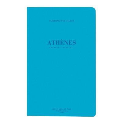 Be Poles Retratos de ciudades Atenas Azul-listing