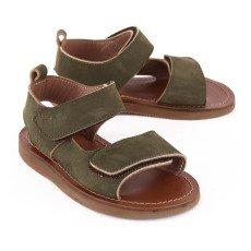 Pèpè Double Velcro Buckle Sandals-listing