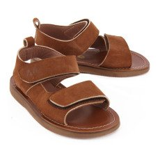 Pèpè Double Velcro Buckle Sandals-listing