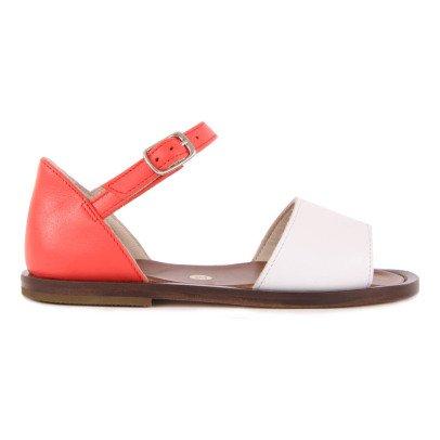 Pèpè Renfort Leather Buckled Sandals-listing