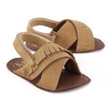 Pèpè Velcro Soft Suede Sandals-listing