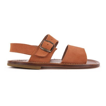 Pèpè Suede Leather Sandals-listing
