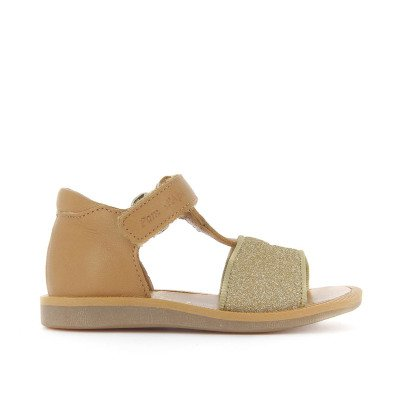 Pom d'Api Easy Tao Poppy Glitter Leather Sandals-listing