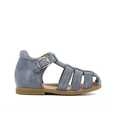 Pom d'Api Papy Fancy Buckled Leather Sandals-listing