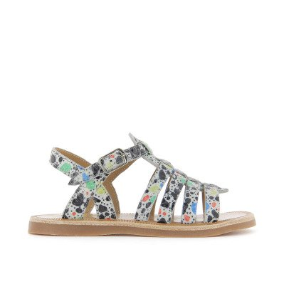 Pom d'Api Strap Arty Leather Sandals-listing