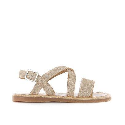 Pom d'Api Lagon Leather Sandals-listing