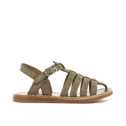 Pom d'Api Papy Cross Stitch Nubuck Beach Sandals-listing