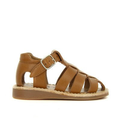 Pom d'Api Papy Yapo Buckled Leather Sandals-listing